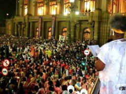 Conceição Evaristo lê manifesto do Bloco Ilú Oba de Min - 2019