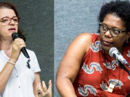 Denise Carreira e Ednéia Gonçalves - Destaque