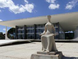 Foto apresenta fachada do Supremo Tribunal Federal (STF)