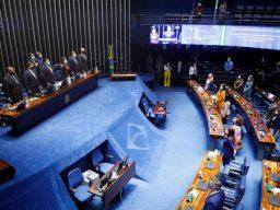 Sessão solene de promulgação da EC 108, o novo Fundeb. Foto: Michel de Jesus / Agência Câmara