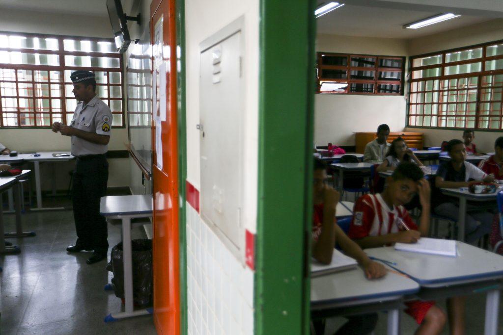 Texto da PEC 32 abre brecha para maior militarização das escolas públicas. Foto: Marcelo Camargo/Agência Brasil Local: Brasilia